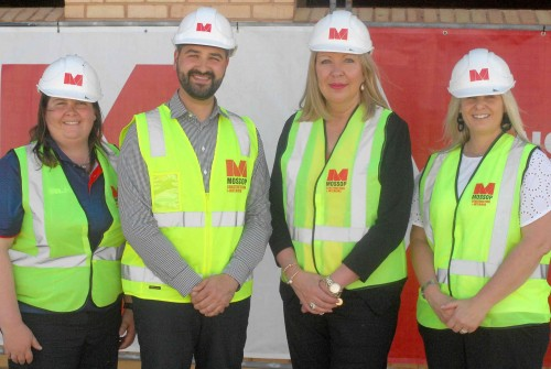 Whyalla Mayor visits Bennett Oval Project