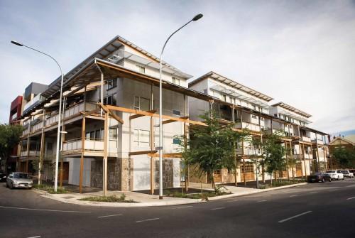 Whitmore Square Eco Housing