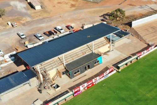 Bennett Oval Upgrade ready to host Power AFL match
