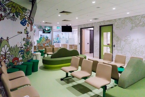 Stage 1 of the $3.5 million Paediatric ED upgrade at the WCH is now complete