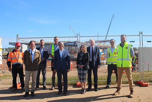 Governor of South Australia visits Xavier College Two Wells Site